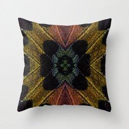 Butterfly Garden Vortex Throw Pillow
