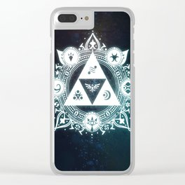 The triforce Power Clear iPhone Case