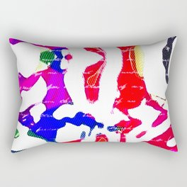 Zaney RGB Rectangular Pillow