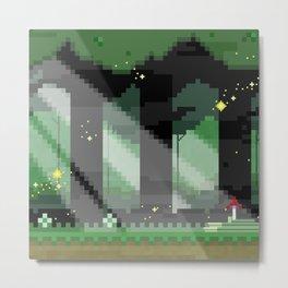 Zelda: Lost Woods Metal Print