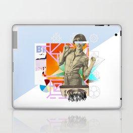 The yé-yé girl Laptop & iPad Skin