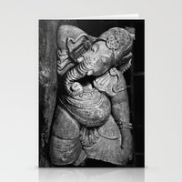 ganesha Stationery Cards featuring Ganesha by Falko Follert Art-FF77