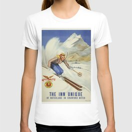 Vintage poster - Crawford Notch, New Hampshire T-shirt