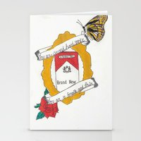 brand new Stationery Cards featuring Brand New by Sarah Hinds