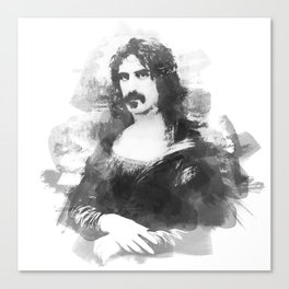 Zappa Lisa Canvas Print
