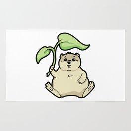 Little Chubby Happy Gopher Shading Itself Rug