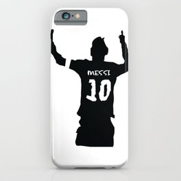 Festejo Messi iPhone Case