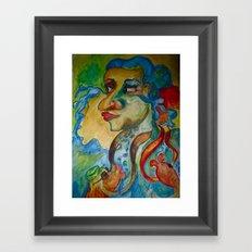 Tears of the Sea Framed Art Print