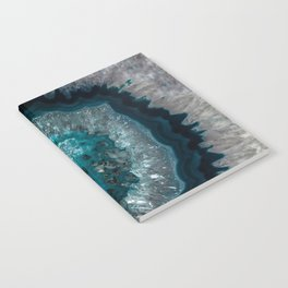 Earth treasures - Blue Agate Notebook