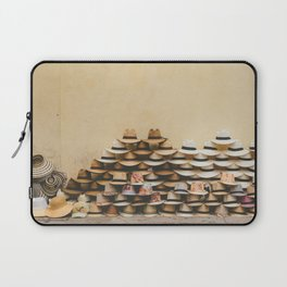 Panama Hats in Cartagena, Colombia Laptop Sleeve