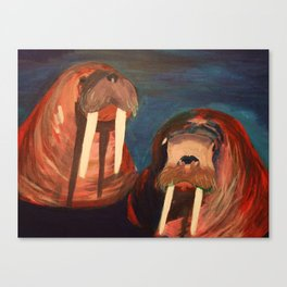 Helen and Harold Canvas Print