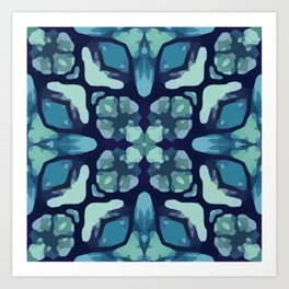 Boho Butterfly Art Print