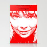 bjork Stationery Cards featuring BJORK by Andhika Tile