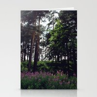 finland Stationery Cards featuring Porvoo- Finland by Cynthia del Rio