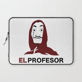 LA CASA DE PAPEL tee shirt El Profesor Laptop Sleeve