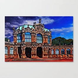 Zwinger Palace Dresden Germany Canvas Print