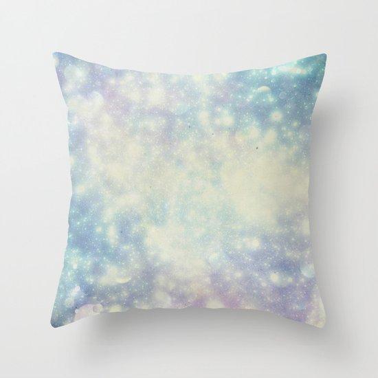 BokehField Throw Pillow