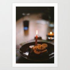 birthday toast Art Print