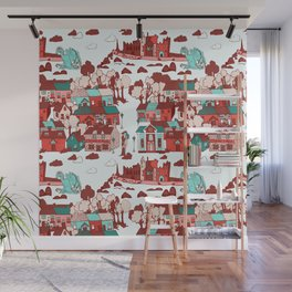 Cashel of The Kings Strong Color Option Wall Mural