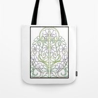 plants Tote Bags featuring Plants by Abundance