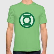 Green Lantern Mens Fitted Tee LARGE Grass