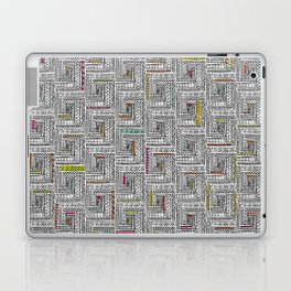 Log Cabin Pattern Laptop & iPad Skin