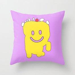 mykin 01 Throw Pillow
