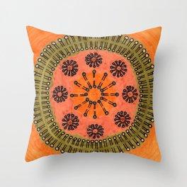 Vesicle Mandala 02 Throw Pillow