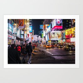 New York Hustle Art Print