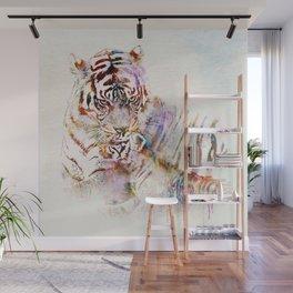 Tigress with Cub Wall Mural