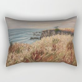 Wild coast of Croisic Rectangular Pillow