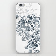 Broken and pixels  iPhone & iPod Skin