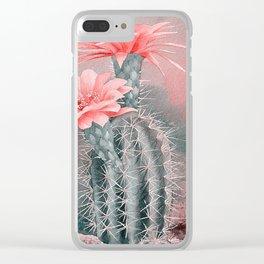 CACTUS2 Clear iPhone Case