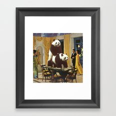 The Problem with Pandas Framed Art Print