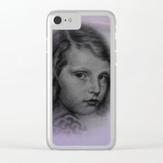 the little girl - vintage -1- Clear iPhone Case