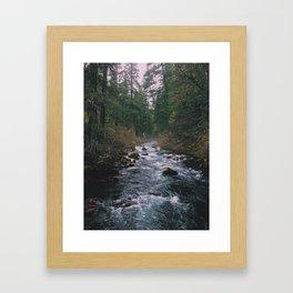 River In Lassen NP Framed Art Print