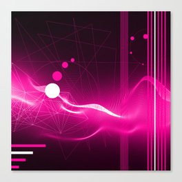 Modern Purple Canvas Print