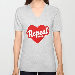 REPEAL THE 8TH Unisex V-Neck