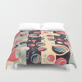 50's floral pattern II Duvet Cover
