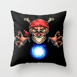 PIRATE MAGICIAN Throw Pillow