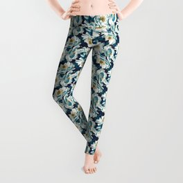 Mount Cook Lily (Night) Leggings