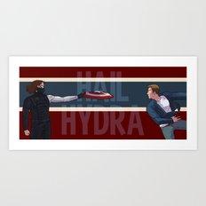 Hail Hydra Art Print