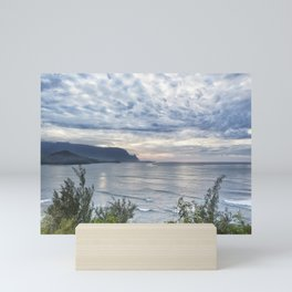 Hanalei Bay Sunset Mini Art Print