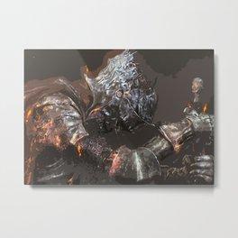 The ashen One Metal Print