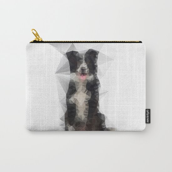 Collie Funk Carry-All Pouch
