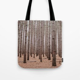 Deep In The Pines Tote Bag