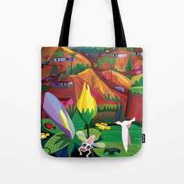 Mill Valley to Zen Gulch Tote Bag