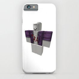Injustice 2  Joker - Roblox iPhone Case