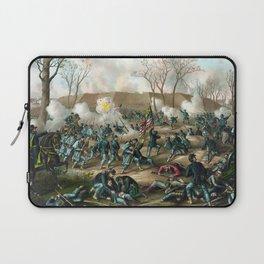 Battle of Fort Donelson -- Civil War Laptop Sleeve