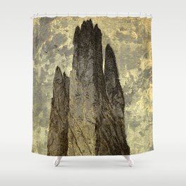 "Cathedral Rock, ""Garden of the Gods,"" Colorado, Red Trussic Sandstones Shower Curtain"